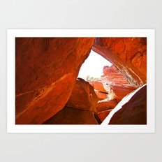 Through the Looking HOLE Art Print