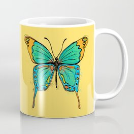 Simple Colorful Butterfly Coffee Mug