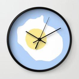 Fried Egg or 煎雞蛋 (Jiān jīdàn), 2014. Wall Clock