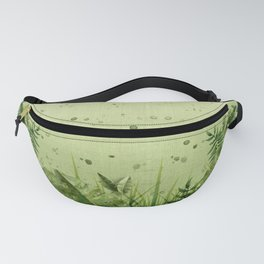 """Forest leaves and plants"" Fanny Pack"