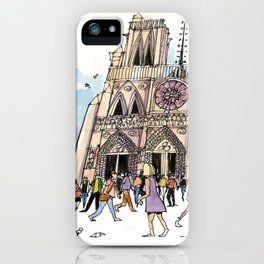 Notre Dame, Paris iPhone Case