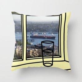 Helen of Greenwich Throw Pillow