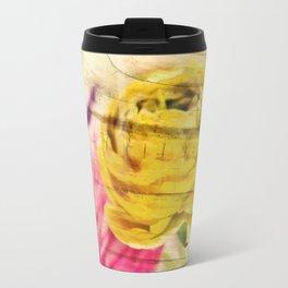 wooden ranunculus Travel Mug