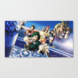 My Hero v.1 Canvas Print