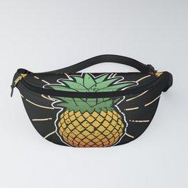 Funny Pineapple Women Summer Hawaii Fruit Gift Fanny Pack