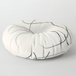 Abstract Line I Floor Pillow
