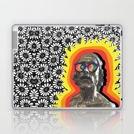 Sculture Wearing Wacky Marble Glasses Laptop & iPad Skin