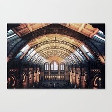 London Natural History Museum  Canvas Print