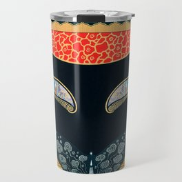 "Art Deco Design ""Eyes of Jealousy"" Travel Mug"