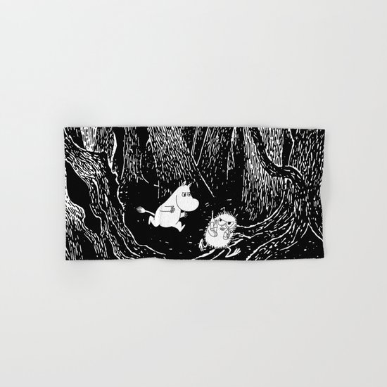 Moomins run for Stinky Hand & Bath Towel