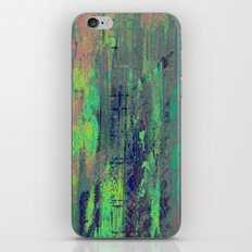 Aqua Abstract iPhone & iPod Skin