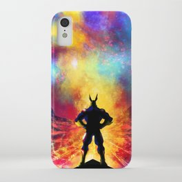 My Hero Academia Inspired Painting   ALL MIGHT iPhone Case