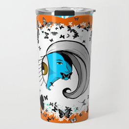 Silence of the Smurfs Travel Mug