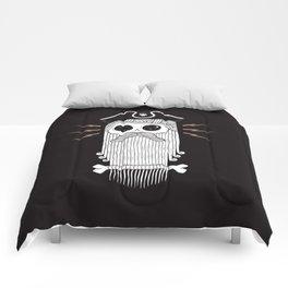 Dead Eye Derek (Black) Comforters