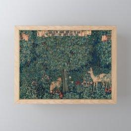 "John Henry Dearle ""Greenery"" 1. Framed Mini Art Print"