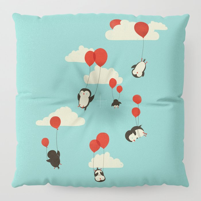 We Can Fly! Floor Pillow