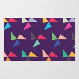 Colorful geometric pattern IV Rug