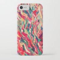 nail polish iPhone & iPod Cases featuring Nail Polish Painted by WayfarerPrints