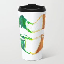 Kiss Me, I'm Irish Travel Mug