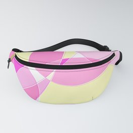 Abstract Wavy Visual Graphic Design V.3 Fanny Pack