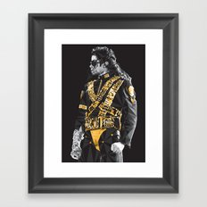 Dangerous - MJ Framed Art Print