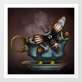 Cup of Tea? Art Print