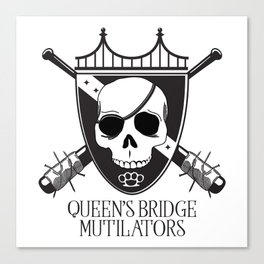 Queen's Bridge Mutilators Canvas Print