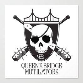 Queen's Bridge Mutilators Canvas Print