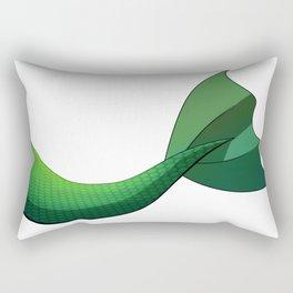 Emerald Mermaid Tail V2 Rectangular Pillow