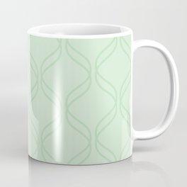Double Helix - Light Greens #769 Coffee Mug