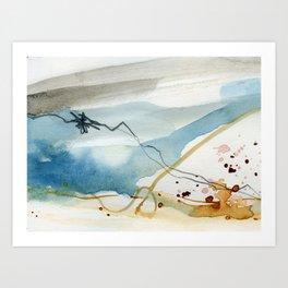 Summer Rain Storm Art Print