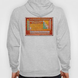 Vintage Industrial Periodic Table Of The Elements Hoody