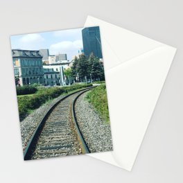 On the road of life Stationery Cards
