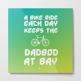 A Bike Ride Each Day Metal Print