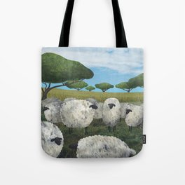 greener pasture Tote Bag