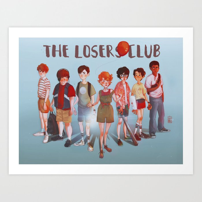The Losers Club Art Print By Megnarr