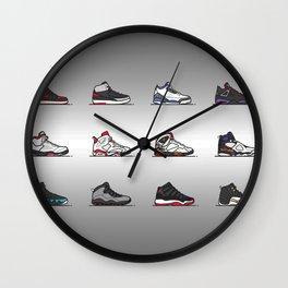 aj 1-12 are my favs Pro Gray Wall Clock