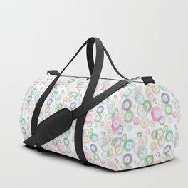 Watercolor Wheels Duffle Bag