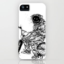 Void in Space (Blk) iPhone Case