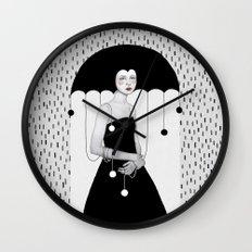 Rainy Minta Wall Clock