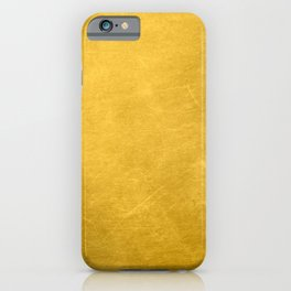 Sunshine Gold Spring Summer iPhone Case