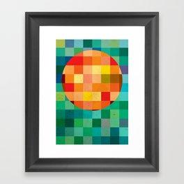 Color player Framed Art Print