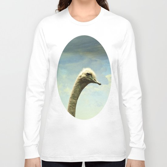 Hello, said the Ostrich Long Sleeve T-shirt