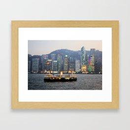Victoria Harbour Framed Art Print