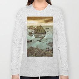 California Ocean West Coast Long Sleeve T-shirt