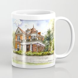 Stately Manor House Coffee Mug