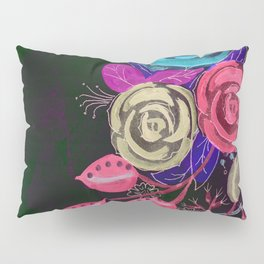 Floral Differences Pillow Sham