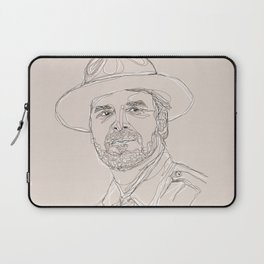 A Very Handsome Sheriff Laptop Sleeve