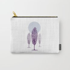 Cold Trees Carry-All Pouch