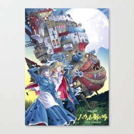 Howls Moving Castle Canvas Print